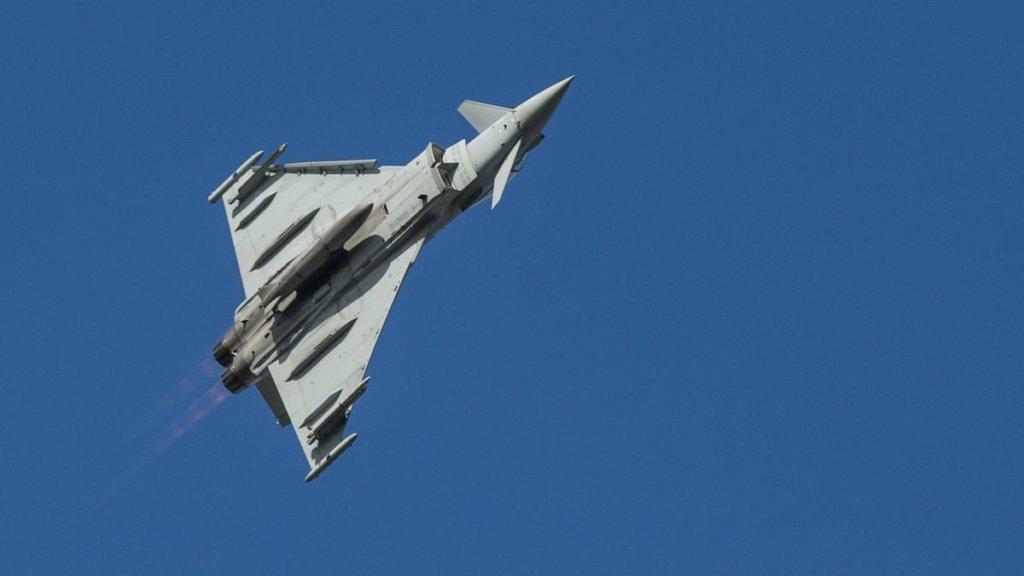 Avioanele de luptă ale Forțelor Aeriene Regale ale Marii Britanii vin la Kogălniceanu