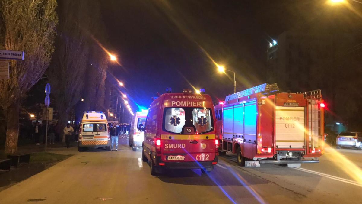 Cetățean suedez implicat într-un accident rutier în Mamaia, găsit în stare de ebrietate