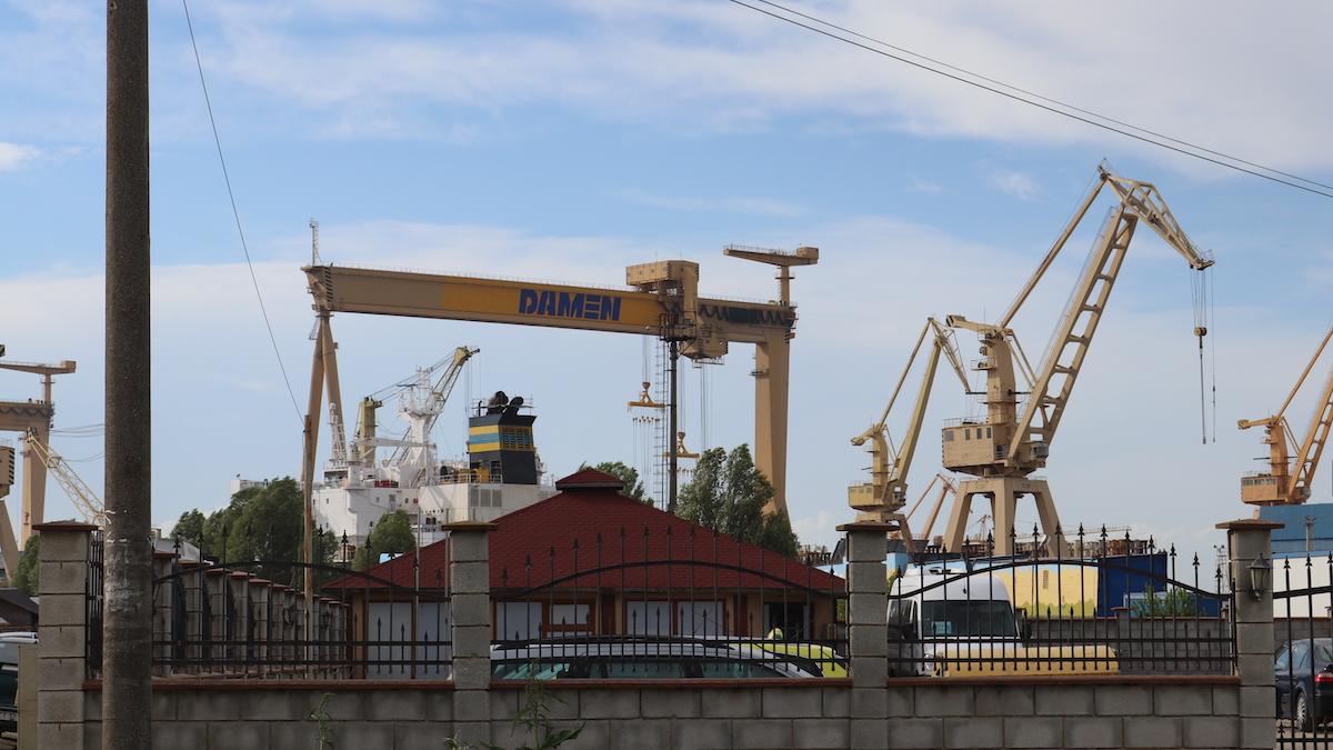 Peste 200 de angajați ai Șantierului Naval Damen Mangalia vor fi disponibilizați după ce AGA a aprobat planul de reorganizare