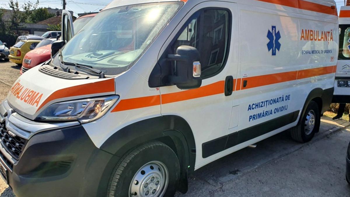 Accident rutier în 23 August, provocat de un șofer aflat în stare de ebrietate