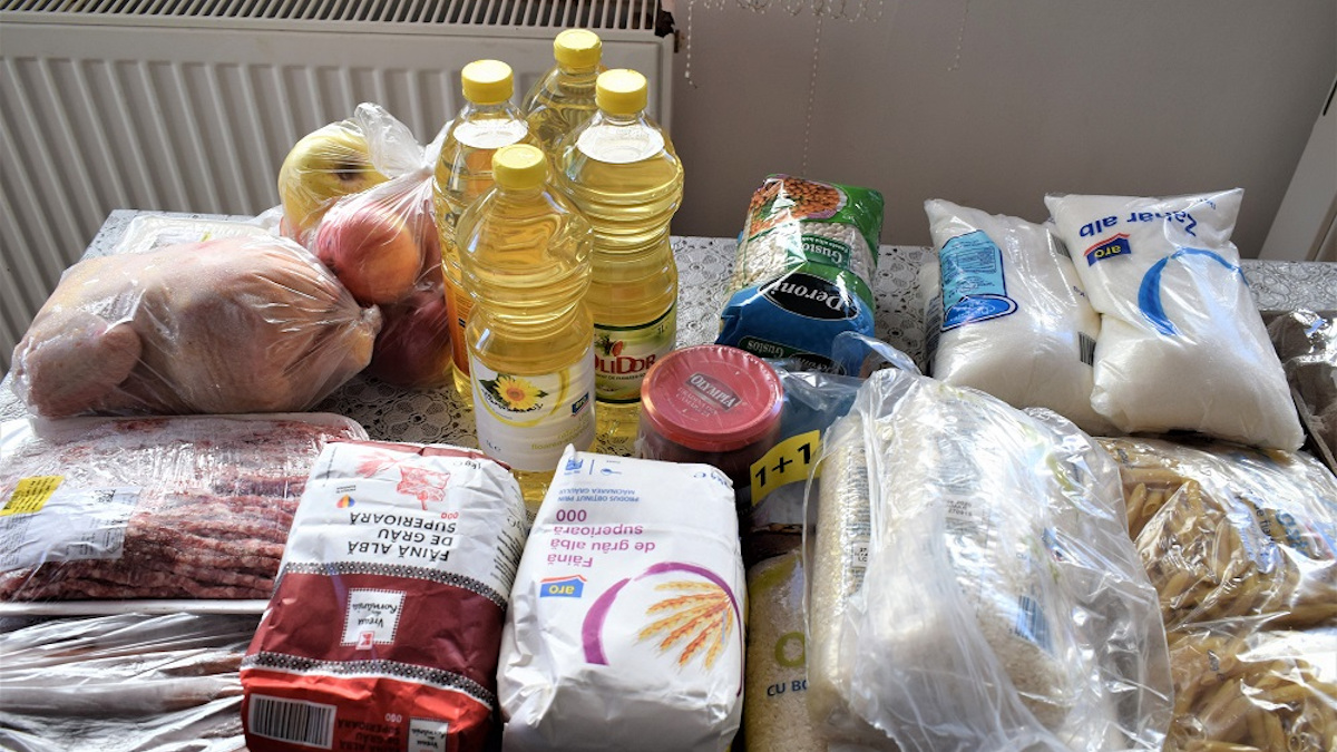 Primăria Medgidia începe campania de distribuire a ajutoarelor alimentare pentru persoanele defavorizate