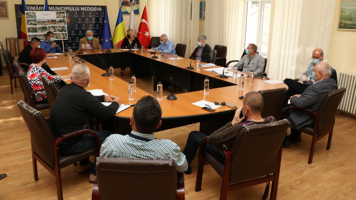 Consilierii locali din Medgidia, convocați luni, 14 iunie, în ședință extraordinară