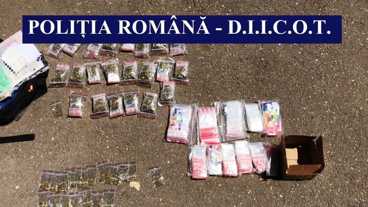 Bărbat de 26 de ani, prins în timp ce încerca să vândă droguri în Constanța
