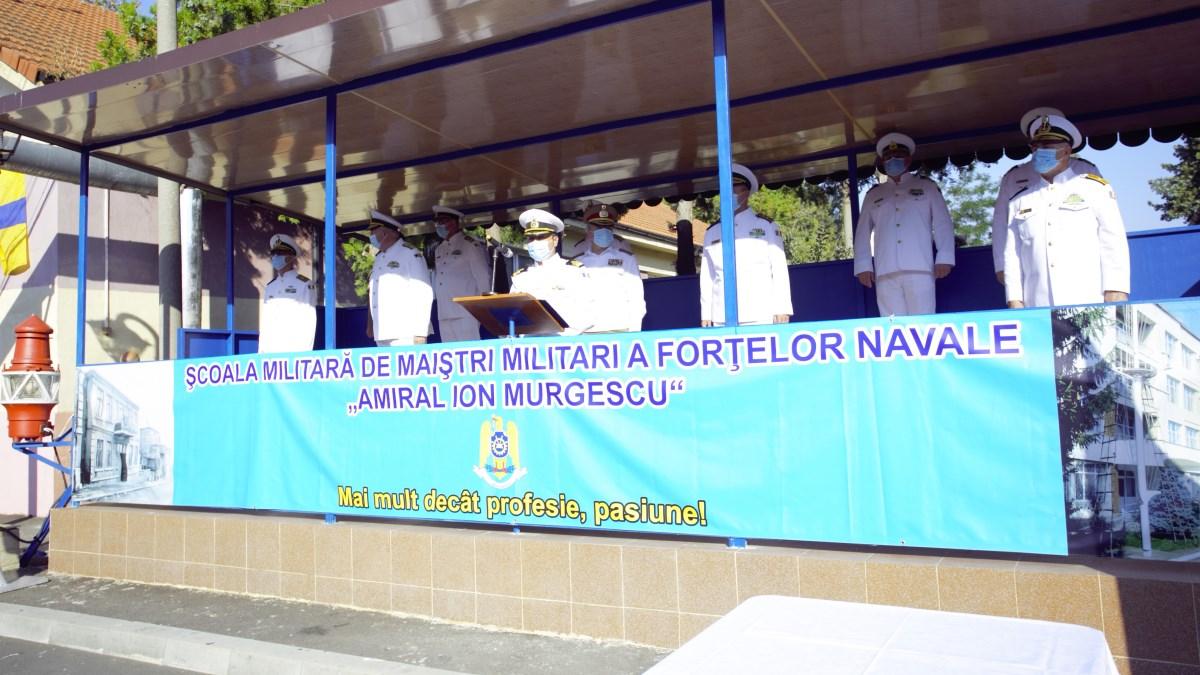 O nouă promoție de maiștri militari de marină la început de drum