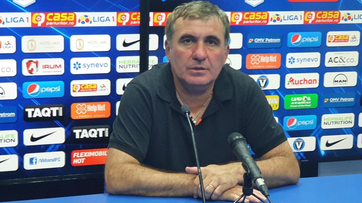 Hagi s-a retras din funcția de manager al FC Viitorul Constanța
