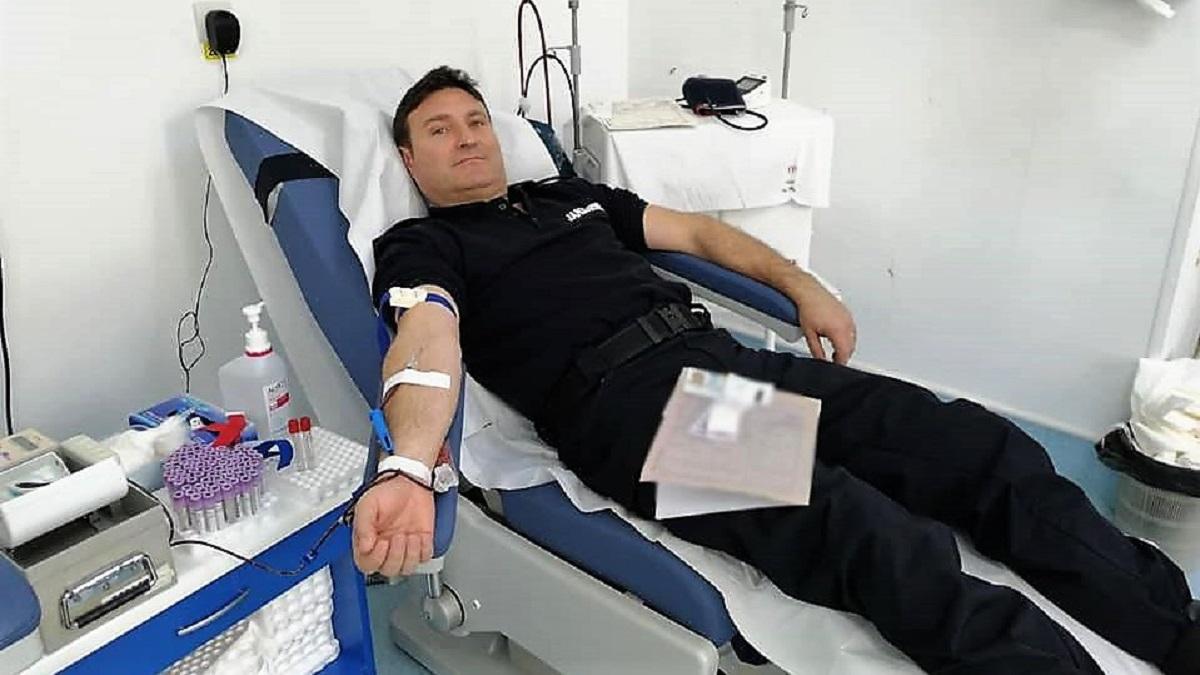 Zeci de jandarmi constănțeni vor dona sânge pentru semenii lor