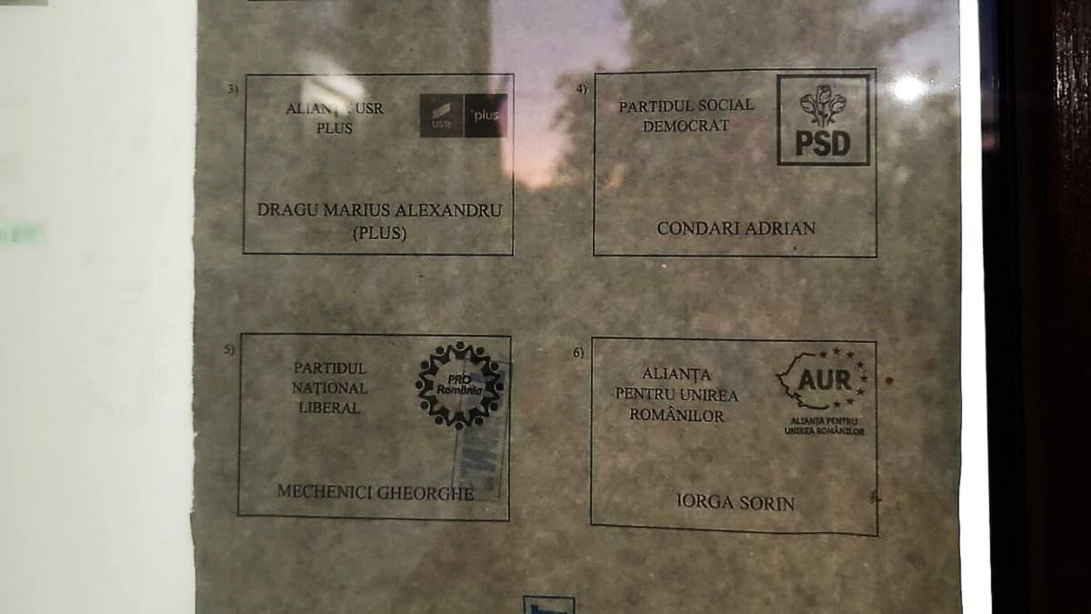 Proces electoral suspendat la Costinești după ce buletinele de vot au fost greșite