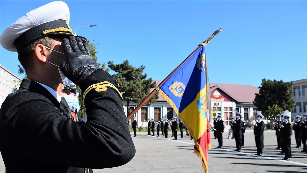 Ceremonii de depunere a Jurământului militar în învățământul militar de marină