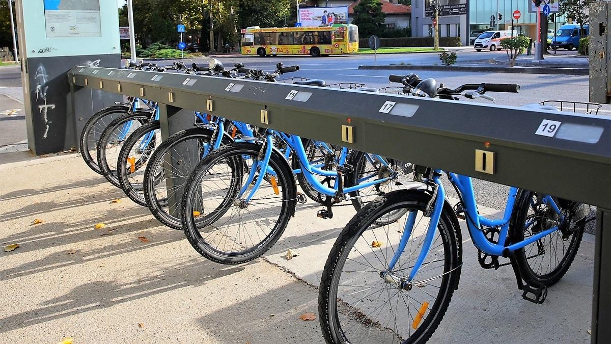 Sistemul de bike sharing din Constanța devine funcțional pe 1 martie