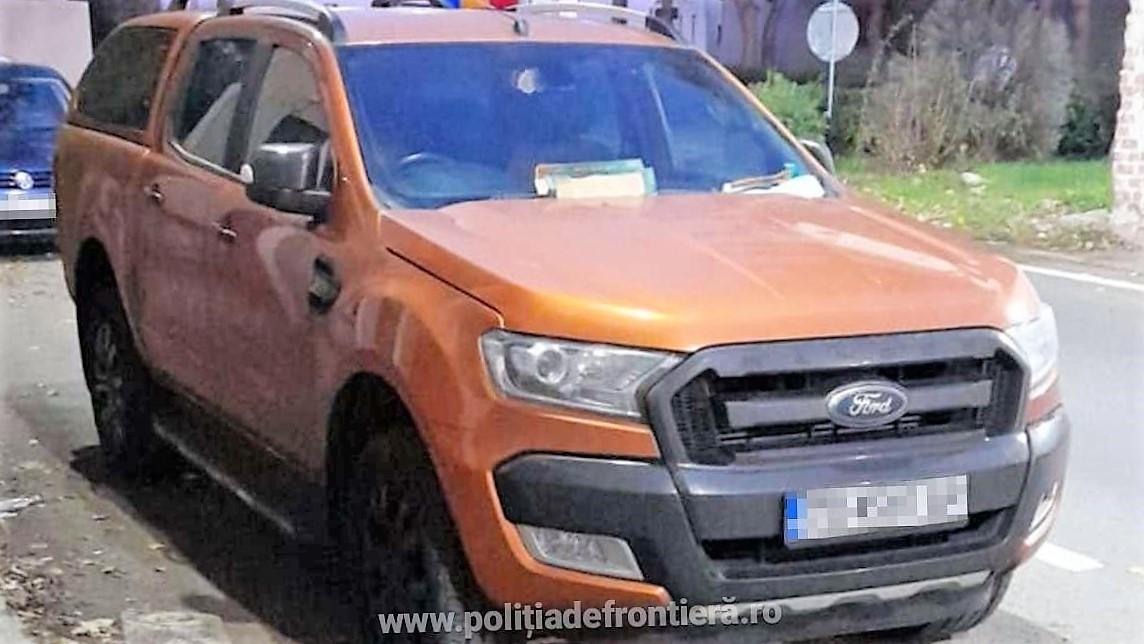 Autoturism de 75.000 de lei, căutat de autoritățile din Marea Britanie, descoperit de polițiștii de frontieră din Negru Vodă