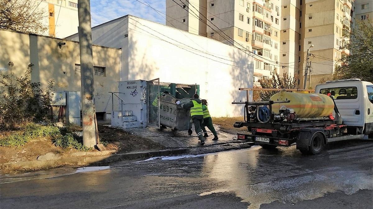 FOTO Angajații Polaris, alături de cei ai DGSP Constanța, au încheiat curățenia în a doua zonă de intervenție din oraș