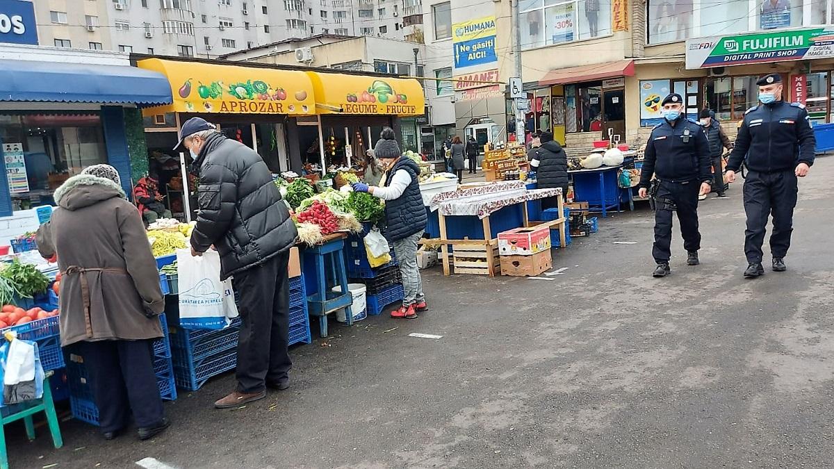 """Primăria Constanța: """"Piețele vor fi deschise imediat ce vor fi amenajate în așa fel încât să răspundă nevoii de protecție"""""""