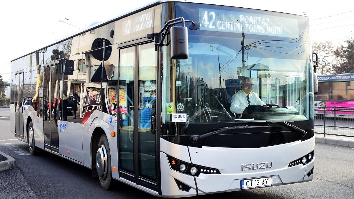Autobuzele CT BUS funcționează, de astăzi, până la ora 23.00