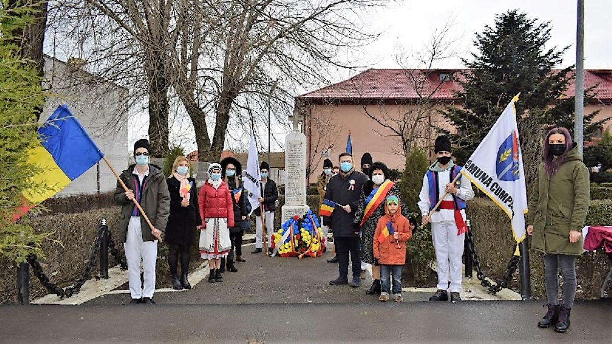 FOTO Ziua Unirii Principatelor a fost sărbătorită cu fast la Cumpăna