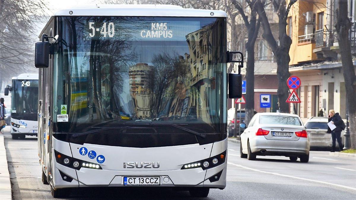 Autobuzele liniei 5-40 vor circula în următoarele zile pe traseu deviat