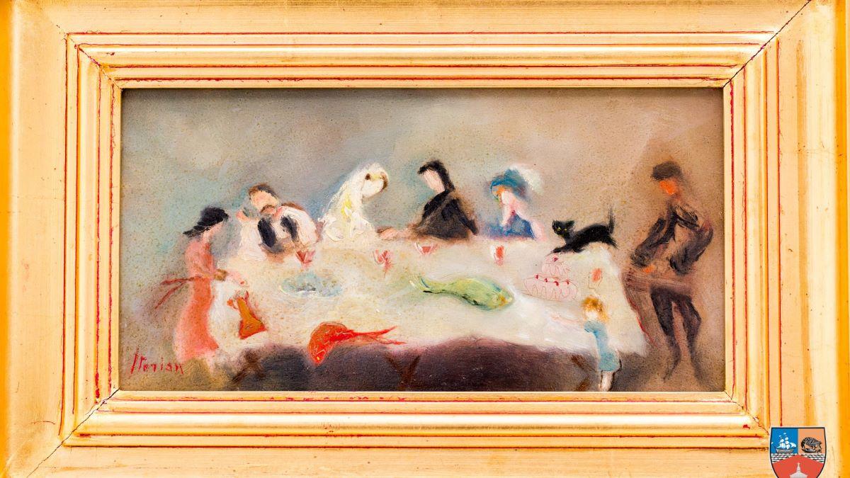 FOTO Muzeul de Artă Constanța își îmbogățește patrimoniul cu patru tablouri în urma unei donații