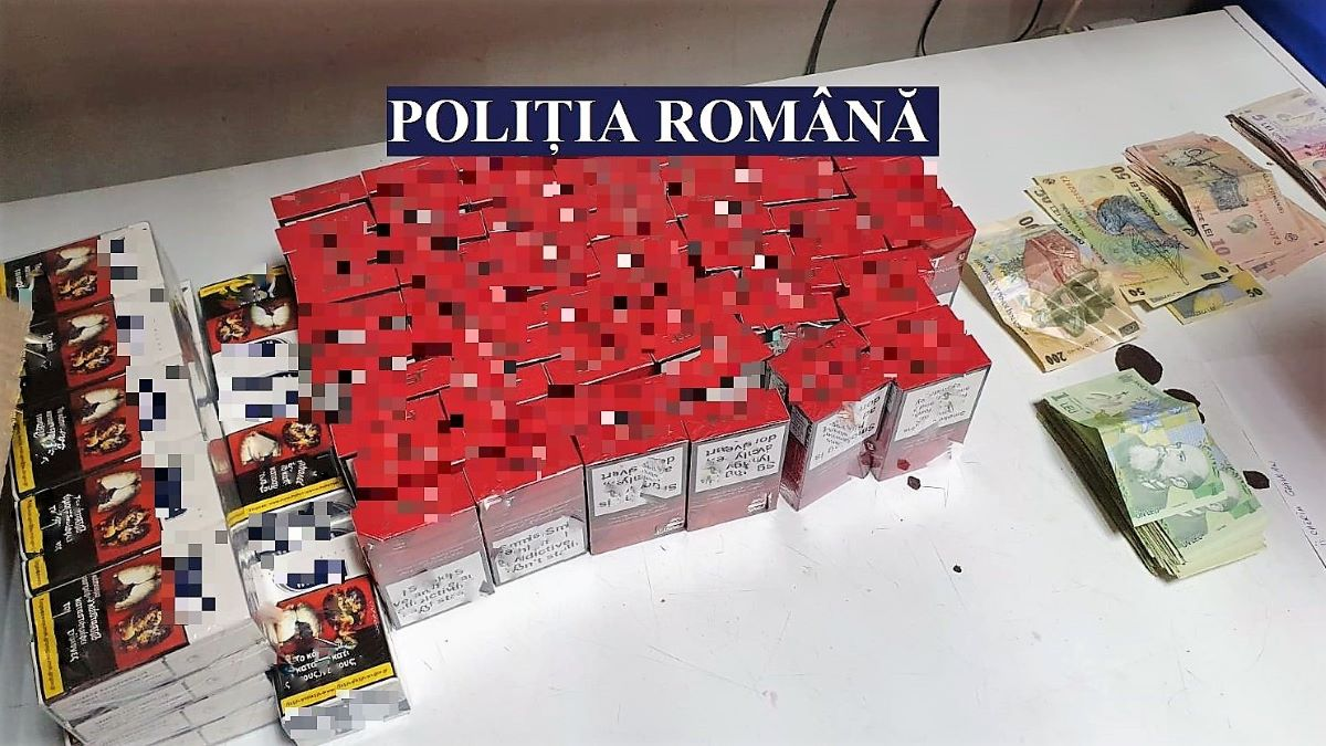 FOTO Percheziții în Constanța la persoane bănuite de contrabandă și punere în circulație de produse contrafăcute