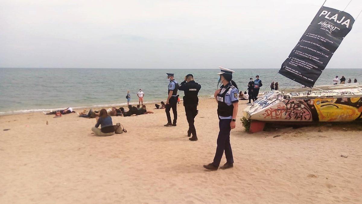 Amenzi de aproape jumătate de milion de lei, aplicate de polițiștii constănțeni în perioada minivacanței de Paște și 1 Mai
