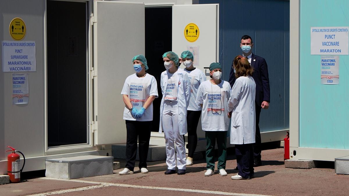 De astăzi, constănțenii se pot vaccina împotriva Covid-19, fără programare, la Spitalul Militar