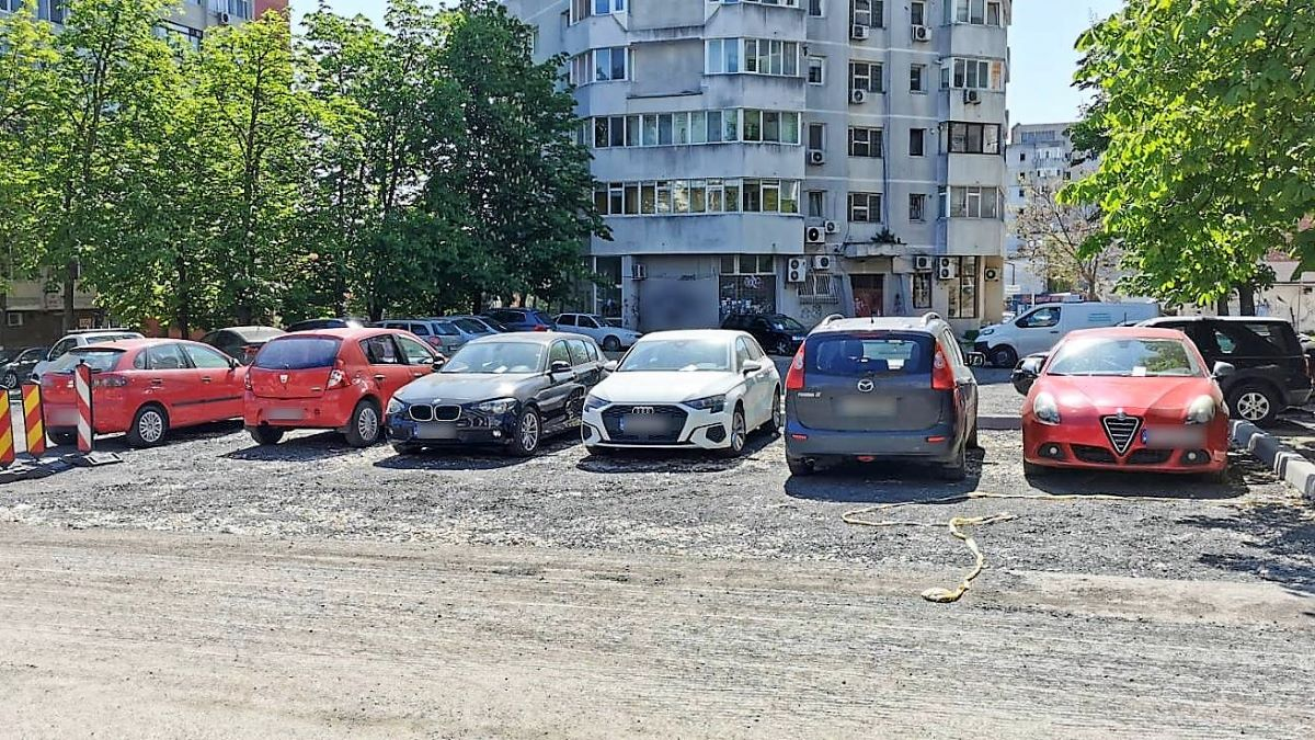 Restricții de parcare în două zone din cartierul Tomis III din Constanța