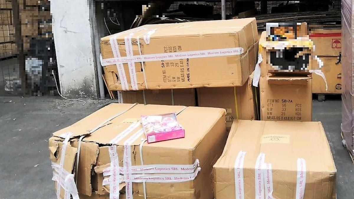 Rechizite școlare susceptibile a fi contrafăcute, ridicate de polițiștii constănțeni de la Transporturi