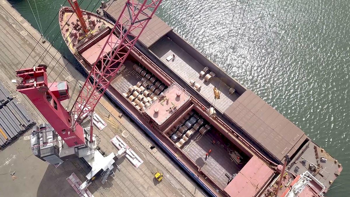 Traficul de mărfuri în porturile maritime a depășit anul acesta 32 de milioane de tone