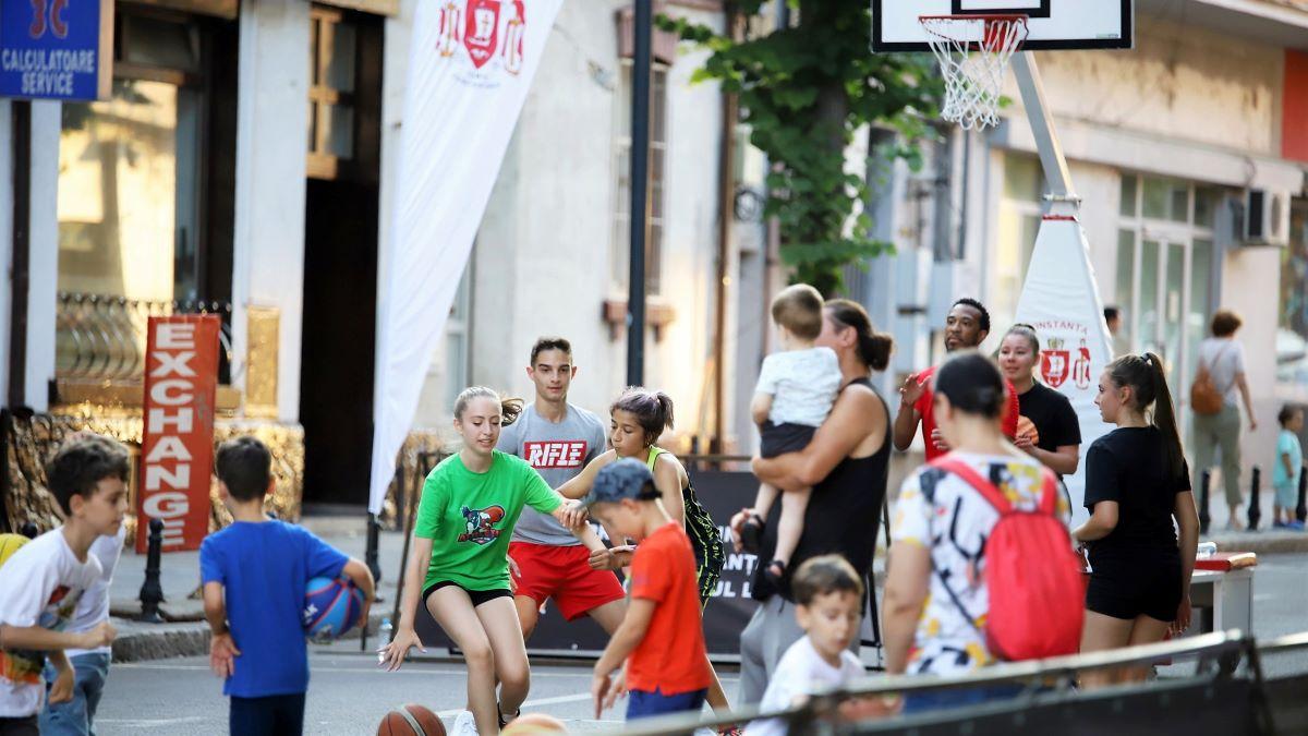 Sportul, dansul și muzica vor ocupa, din nou, o parte a bulevardului Tomis, în centrul Constanței