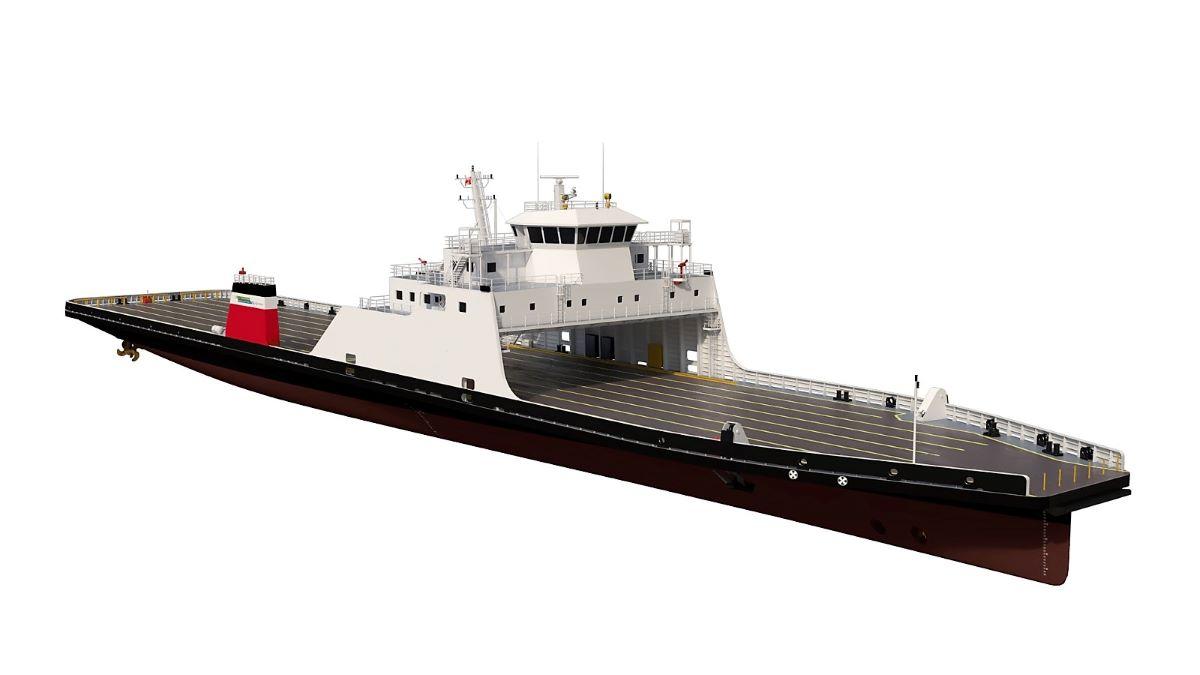 Șantierul Naval Damen din Mangalia a construit prima navă din România cu motoare care utilizează GNL