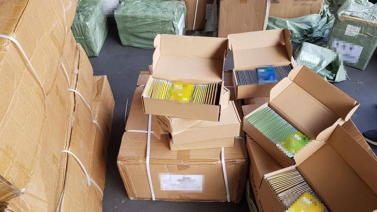 Mii de produse susceptibile a fi contrafăcute, depistate în Portul Constanța